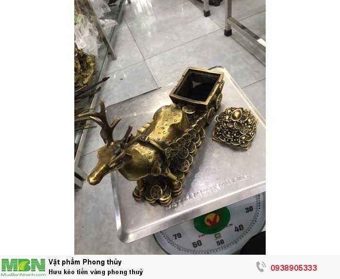 Hưu kéo tiền vàng phong thuỷ2