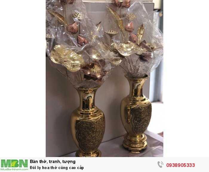 Đôi lọ hoa thờ cúng cao cấp0