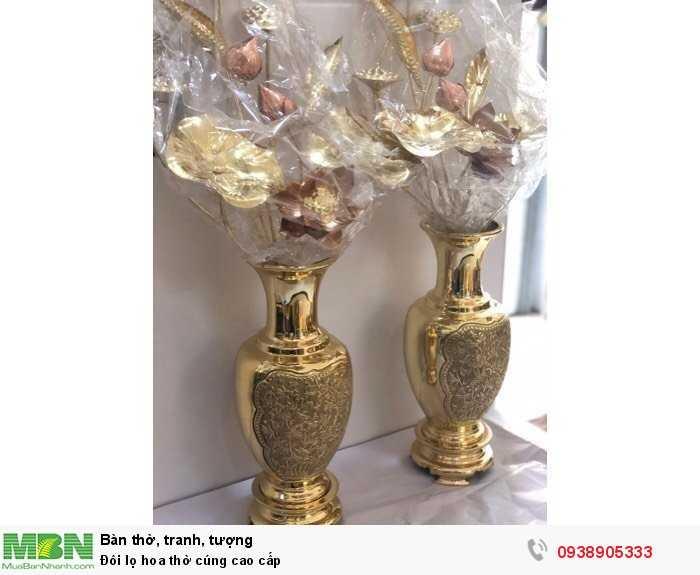 Đôi lọ hoa thờ cúng cao cấp1
