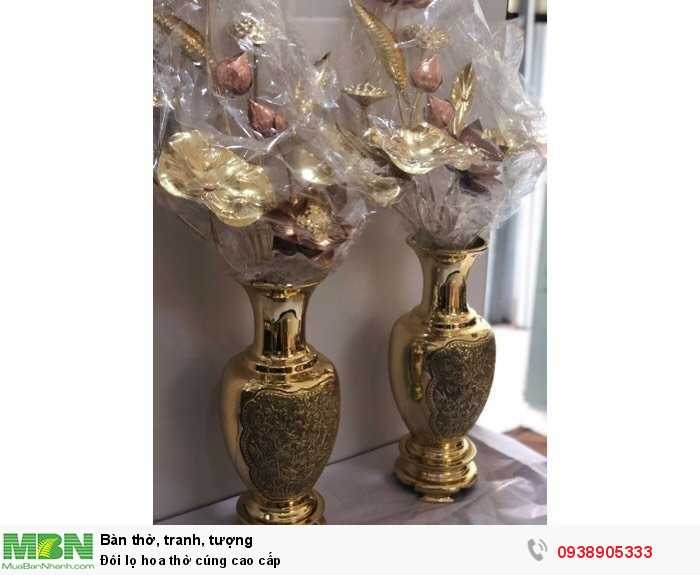 Đôi lọ hoa thờ cúng cao cấp4