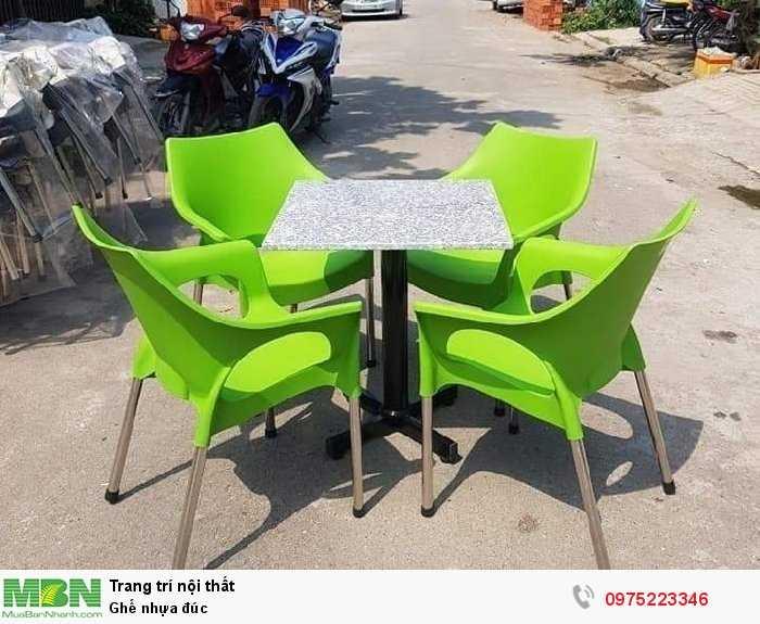 Ghế nhựa đúc Hary nhiều màu giá sỉ tại xưởng2