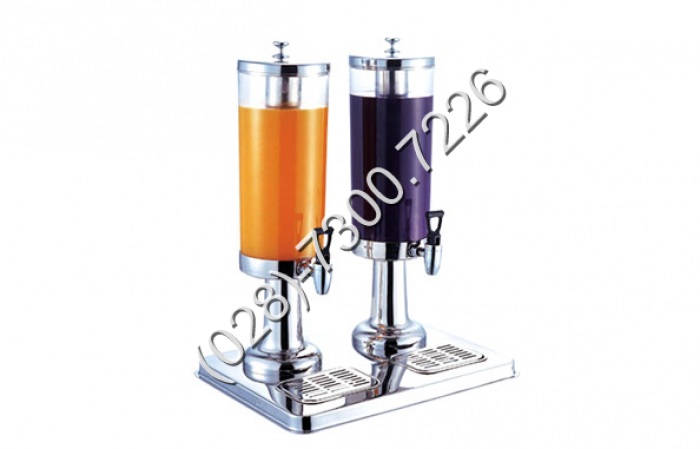 Thông số kỹ thuật: - Mã sản phẩm: BC2225-2 - Kích thước: L400xW300xH520 mm - Chất liệu: Inox 18/10 tương đương 304 cao cấp - Dung tích: 3 lít / bình8