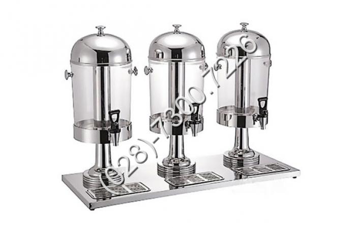 Thông số kỹ thuật: - Mã sản phẩm: BC2213-3 - Kích thước: L700×W260×H570 mm - Chất liệu: Inox cao cấp, cổ chân bằng inox - Dung tích: 8 lít x 32