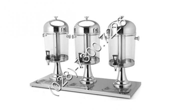 Thông số kỹ thuật: - Mã sản phẩm: BC2201-3 - Kích thước: L860xW345xH580 mm - Chất liệu: inox, cổ chân bằng nhựa mạ - Dung tích: 8 lít x 31