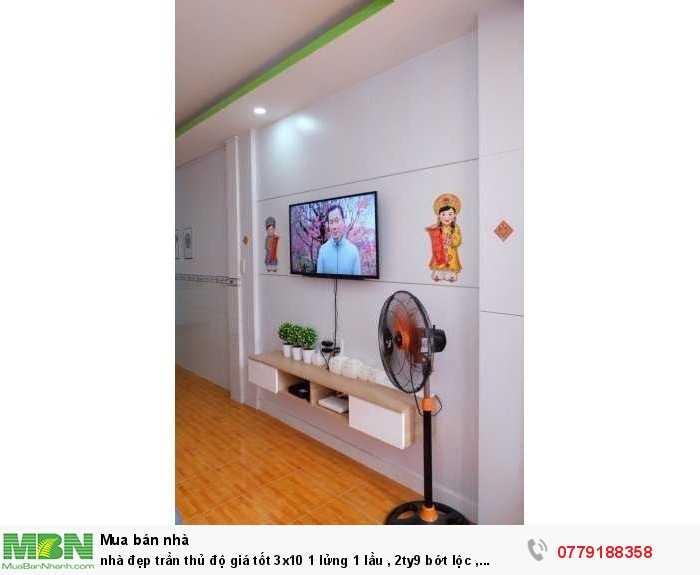 nhà đẹp trần thủ độ giá tốt 3x10 1 lửng 1 lầu , 2ty9 bớt lộc , hẻm trc nhà 4m