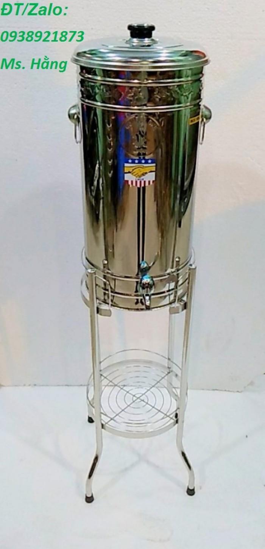 Bình lọc nước inox 304 loại 20l - bl20l35