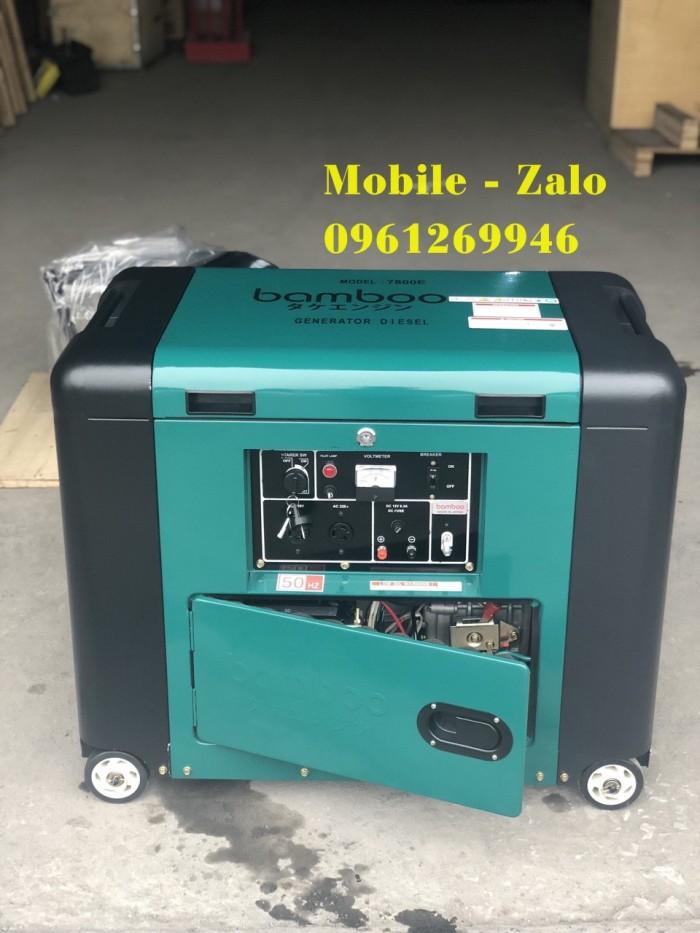 Máy phát điện gia đình Bamboo BmB 7800E (5KW; dầu; chống ồn) giá tốt ở đâu?