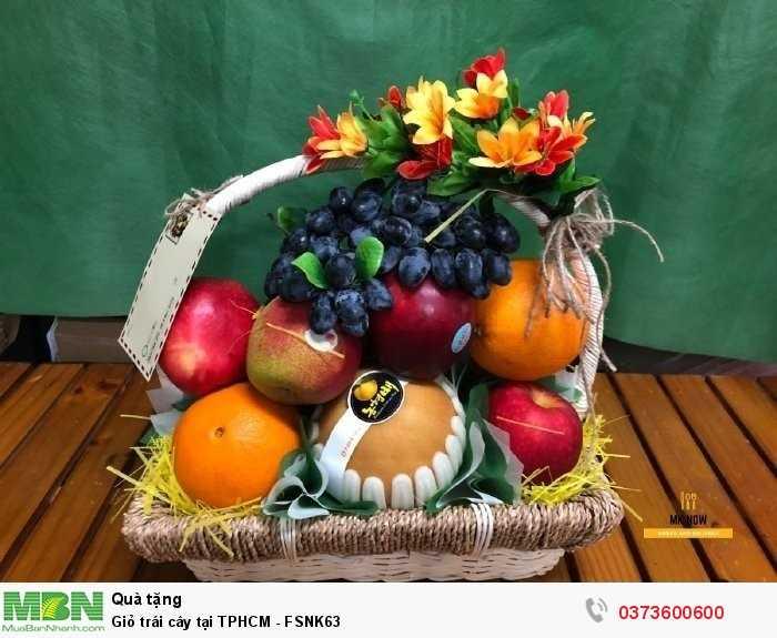 Giỏ trái cây tại TPHCM - FSNK630