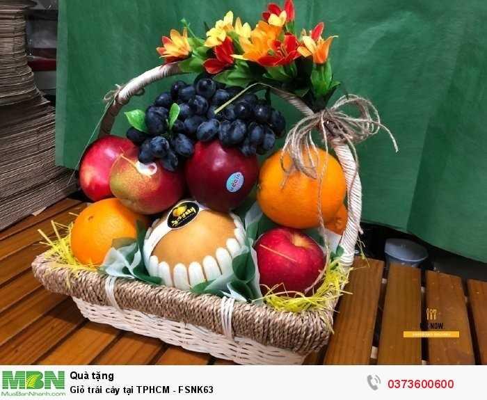 Đặt Giỏ trái cây tại TPHCM - FSNK631