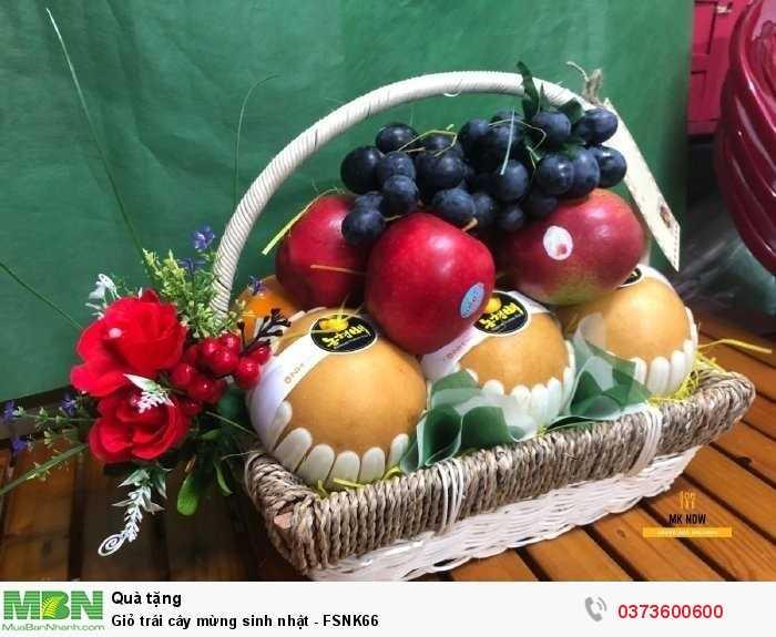 Đặt Giỏ trái cây mừng sinh nhật giao tận nơi