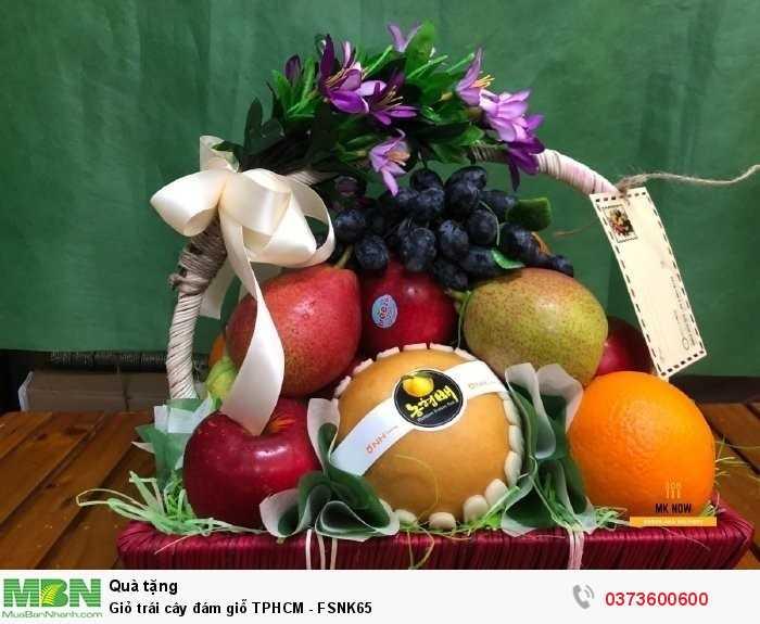 Giỏ trái cây đám giỗ TPHCM - FSNK650