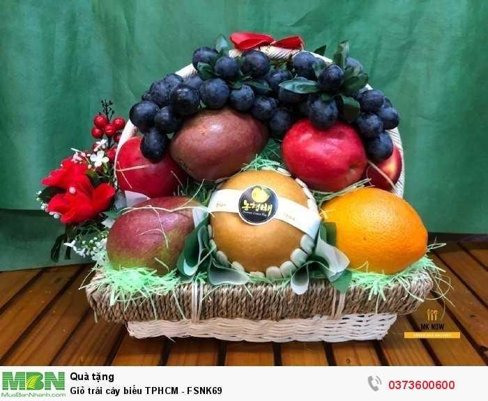 Giỏ trái cây biếu TPHCM - FSNK690