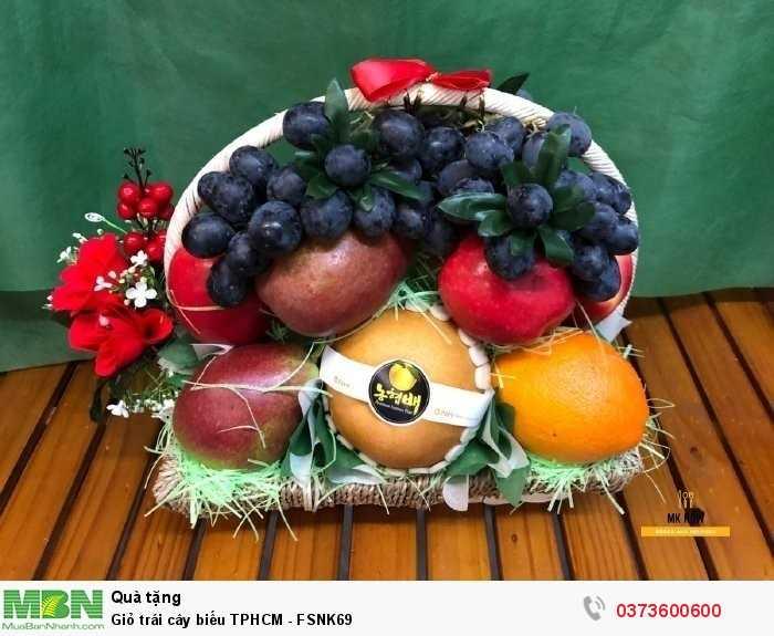 Đặt Giỏ trái cây biếu TPHCM - FSNK691