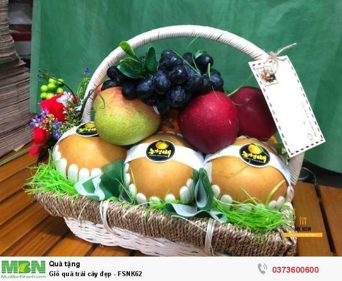 Đặt Giỏ quà trái cây đẹp - FSNK62
