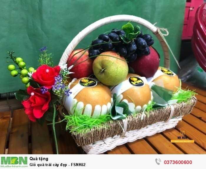 Đặt online Giỏ quà trái cây đẹp - FSNK62