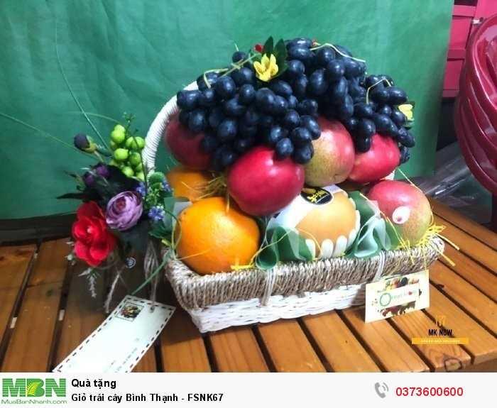 Mua Giỏ trái cây Bình Thạnh - FSNK67 tại MKnow