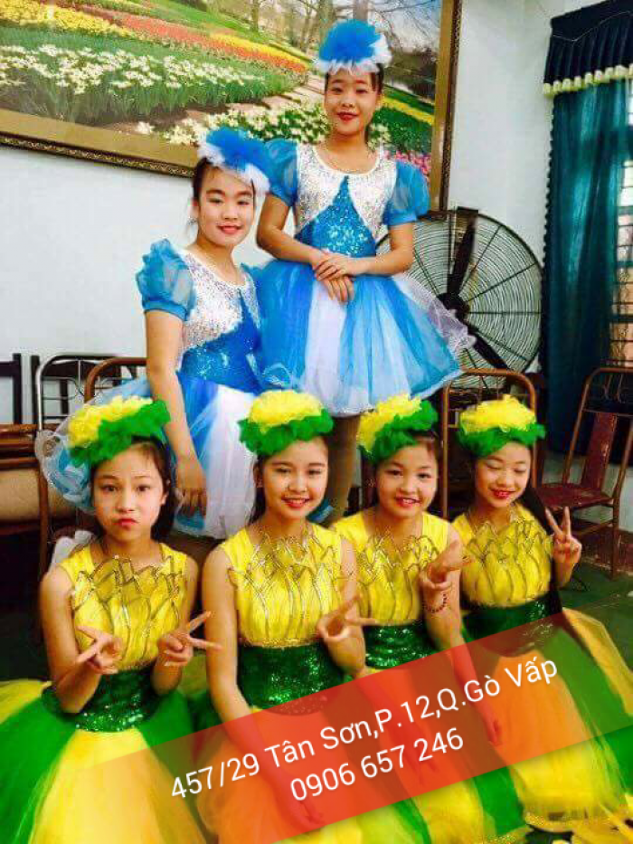 May bán và cho thuê trang phục trẻ em giá cực rẻ
