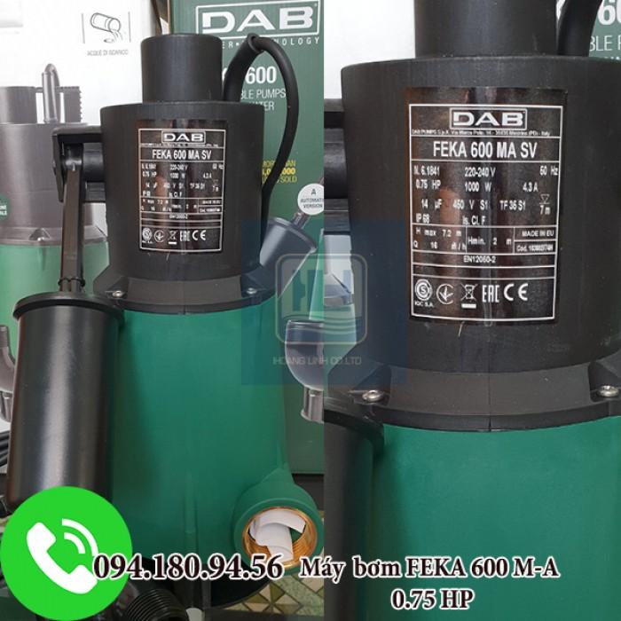 BƠM CHÌM  NƯỚC THẢI NOVA 600 M-A SV công suất 0.75HP1