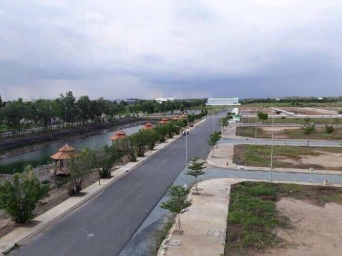 Đất nền Bình Chánh mặt tiền đường 20m,giá 1.9ty/100m2,sổ hồng,nằm KDC có 1/500