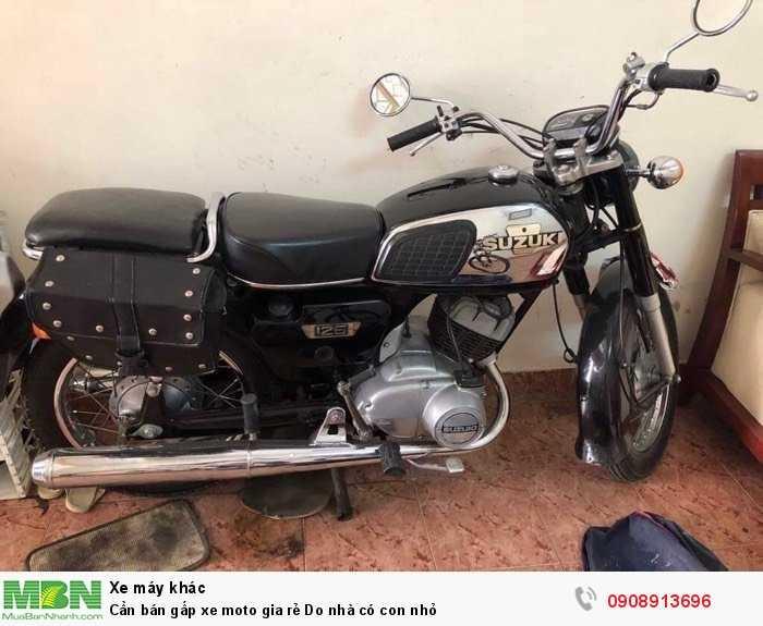 Cần bán gấp xe moto gia rẻ Do nhà có con nhỏ