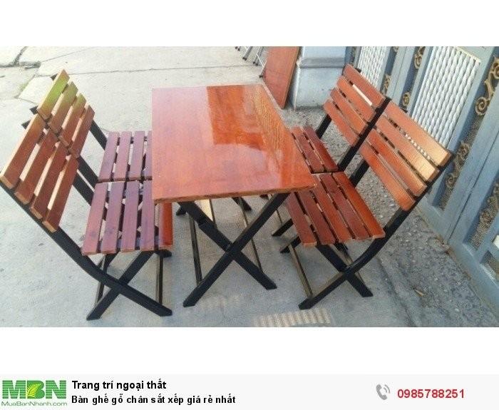 bàn ghế gổ cafe giá rẻ tại xưởng sản xuất HGH 12640