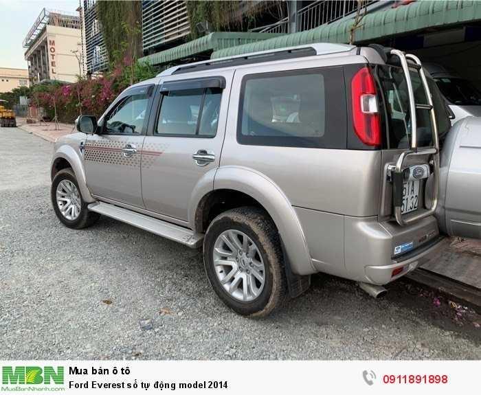 Ford Everest số tự động model 2014