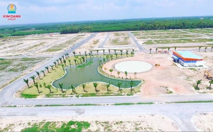 Đất thổ cư Tọa lạc giữa bốn tuyến đường: 25C, 319, Tôn Đức Thắng và Nguyễn Hữu Cảnh, trung tâm thành phố Nhơn Trạch, tỉnh Đồng Nai