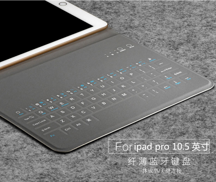 Bao da bàn phím bluetooth siêu mỏng cho ipad Pro 11 (10.5 inch)6