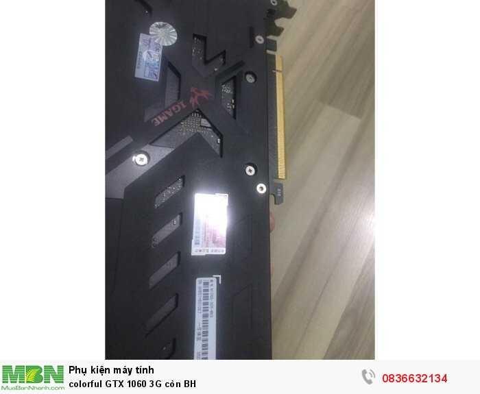 colorful GTX 1060 3G còn BH0