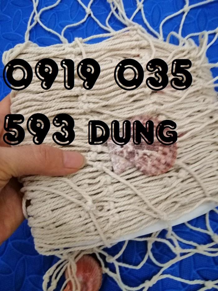 Lưới trang trí kèm vỏ sò lưới trang trí trần tường theo phong cách biển6