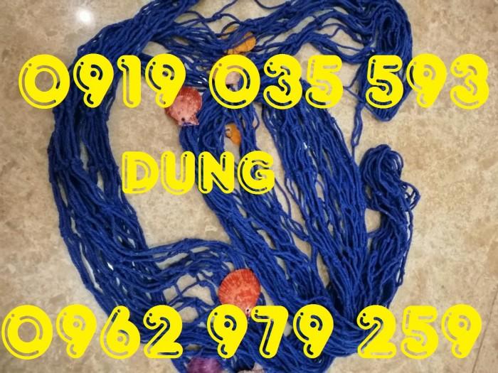 Lưới trang trí kèm vỏ sò lưới trang trí trần tường theo phong cách biển28