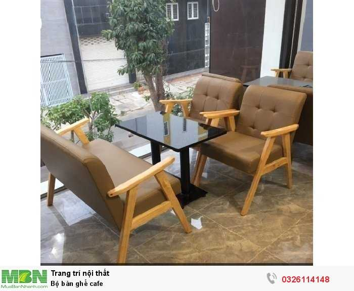 Bộ bàn ghế cafe0