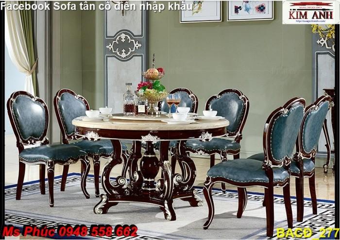 30 mẫu bàn ăn tân cổ điển màu trắng có làm anh say nắng không - ban ghe an co dien Nội thất Kim Anh