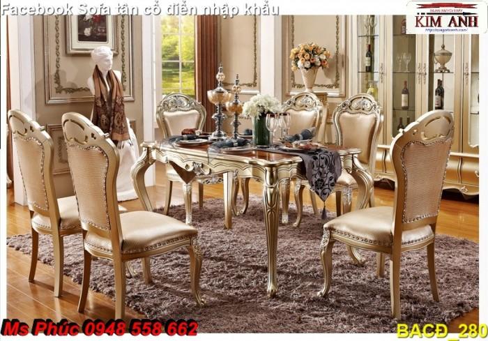 bàn ăn nhập khẩu châu âu