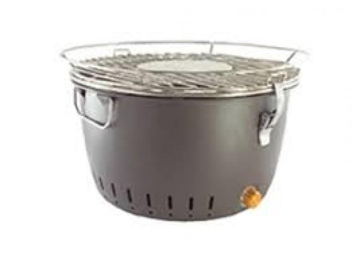 Bếp nướng than hoa BBQ Home BN-01 - Màu nâu2