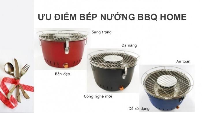 Bếp nướng than hoa BBQ Home BN-01 - Màu nâu1