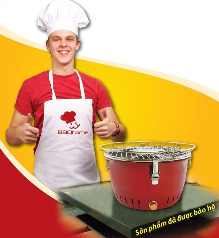 Bếp nướng than hoa BBQ Home BN-01 - Màu nâu0