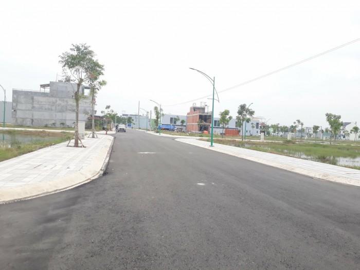 Bán đất Hóc Môn đường Tân Thới Nhì 9, thổ cư 100%, giá 500 triệu /80m2 shr