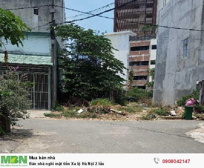 Bán nhà nghỉ mặt tiền Xa lộ Hà Nội 2 lầu