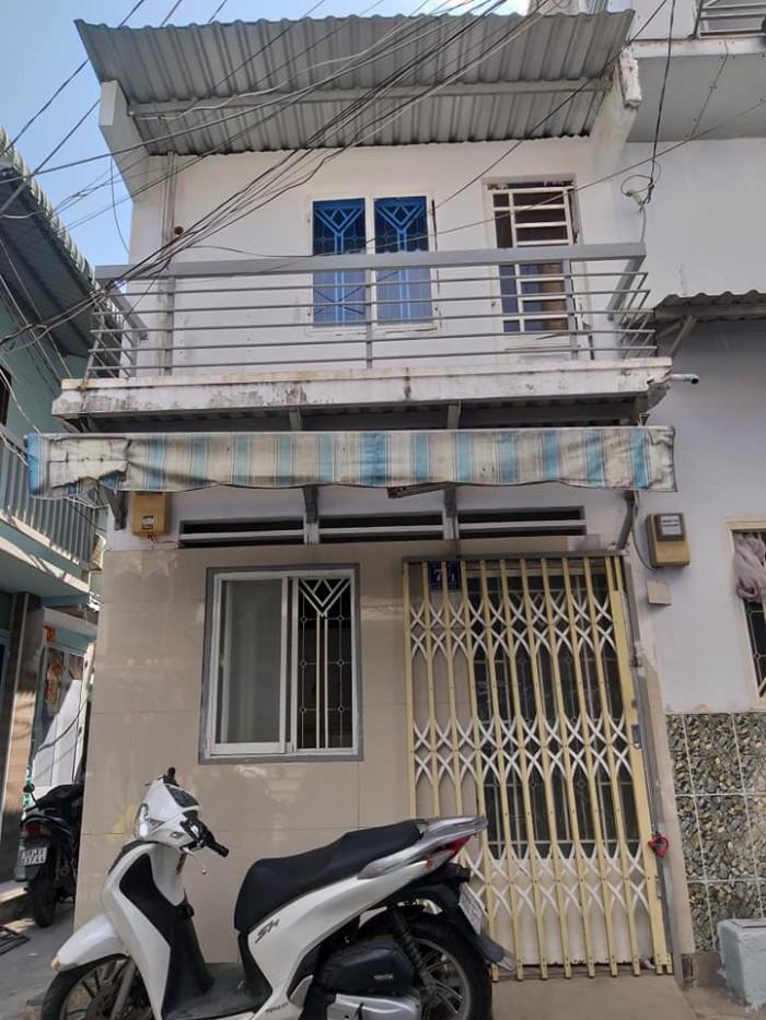 Chính chủ bán gấp nhà 1 Sẹc,2 mặt tiền,1Tr 1 Lầu,Hẻm rộng 4m giá cực rẻ khu Bình Triệu-PVĐ