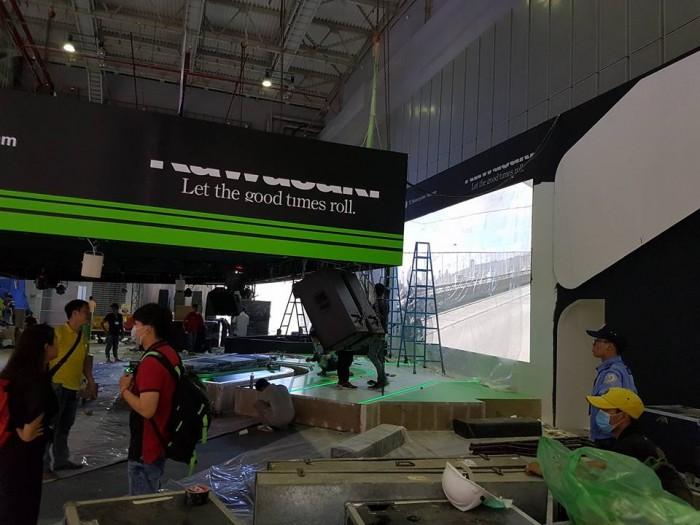 Cho thuê màn hình Led P8 trong nhà - Màn hình Led Âu Lạc (Alta Media)