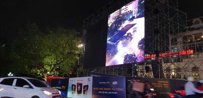 Lắp đặt màn hình Led P14 ngoài trời - màn hình Led P12 outdoor - Màn hình Led Âu Lạc (Alta Media)