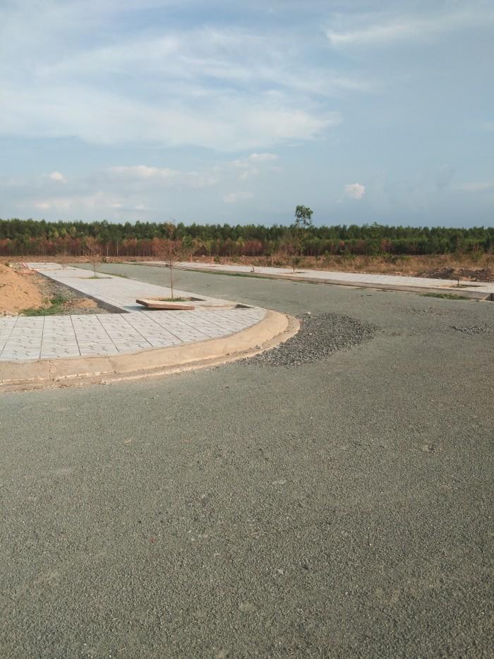 Dự án Khu dân cư Ngân Long mặt tiền đường Bắc Sơn - Long Thành sổ hồng thổ cư giá chỉ 5,6Tr/m2