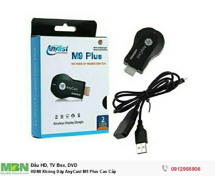 HDMI Không Dây AnyCast M9 Plus Cao Cấp1