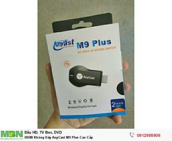HDMI Không Dây AnyCast M9 Plus Cao Cấp3