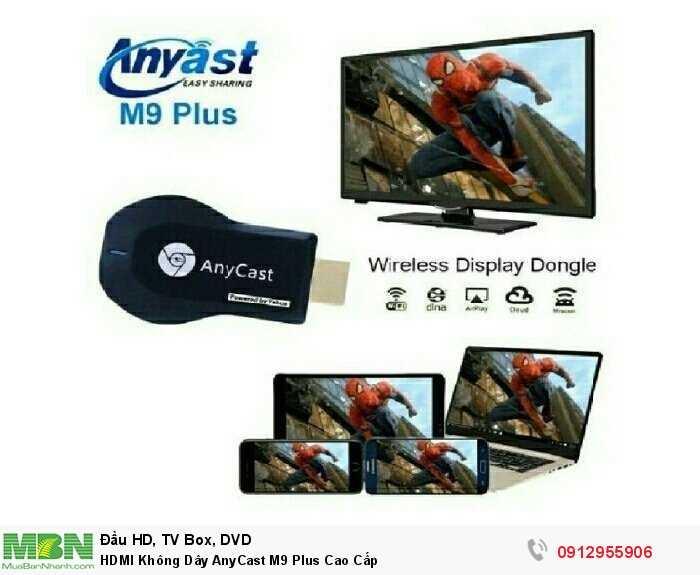 HDMI Không Dây AnyCast M9 Plus Cao Cấp4