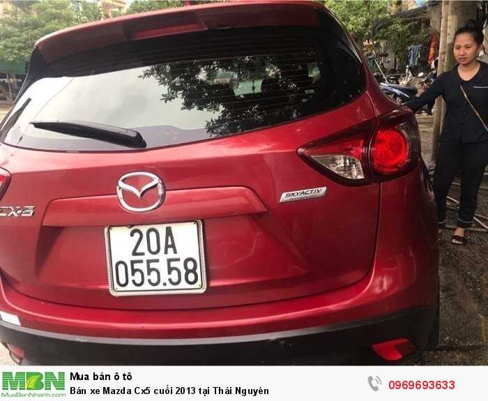 Bán xe Mazda Cx5 cuối 2013 tại Thái Nguyên