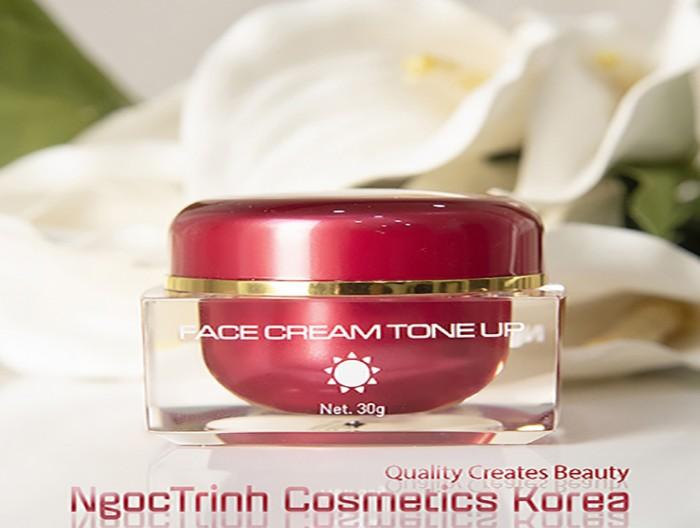 Kem Face trắng mặt chuyên phân phối mỹ phẩm Ngọc Trinh trắng da toàn thân làm trắng da mặt