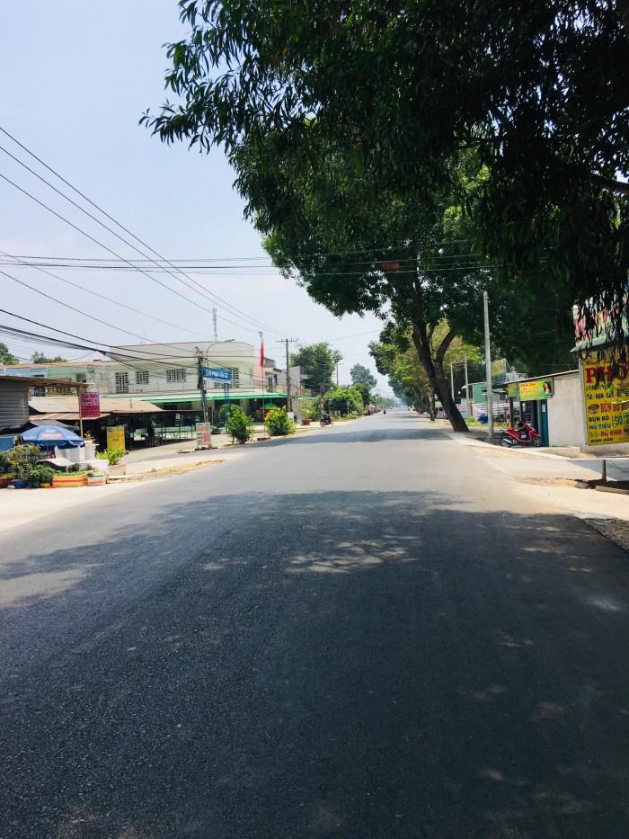 Đất gần chợ Phạm Văn Cội hướng đường Cây Bài đi vào sổ hồng riêng.