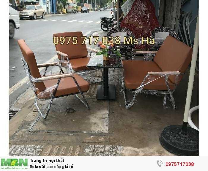 Sofa sắt cao cấp giá rẻ